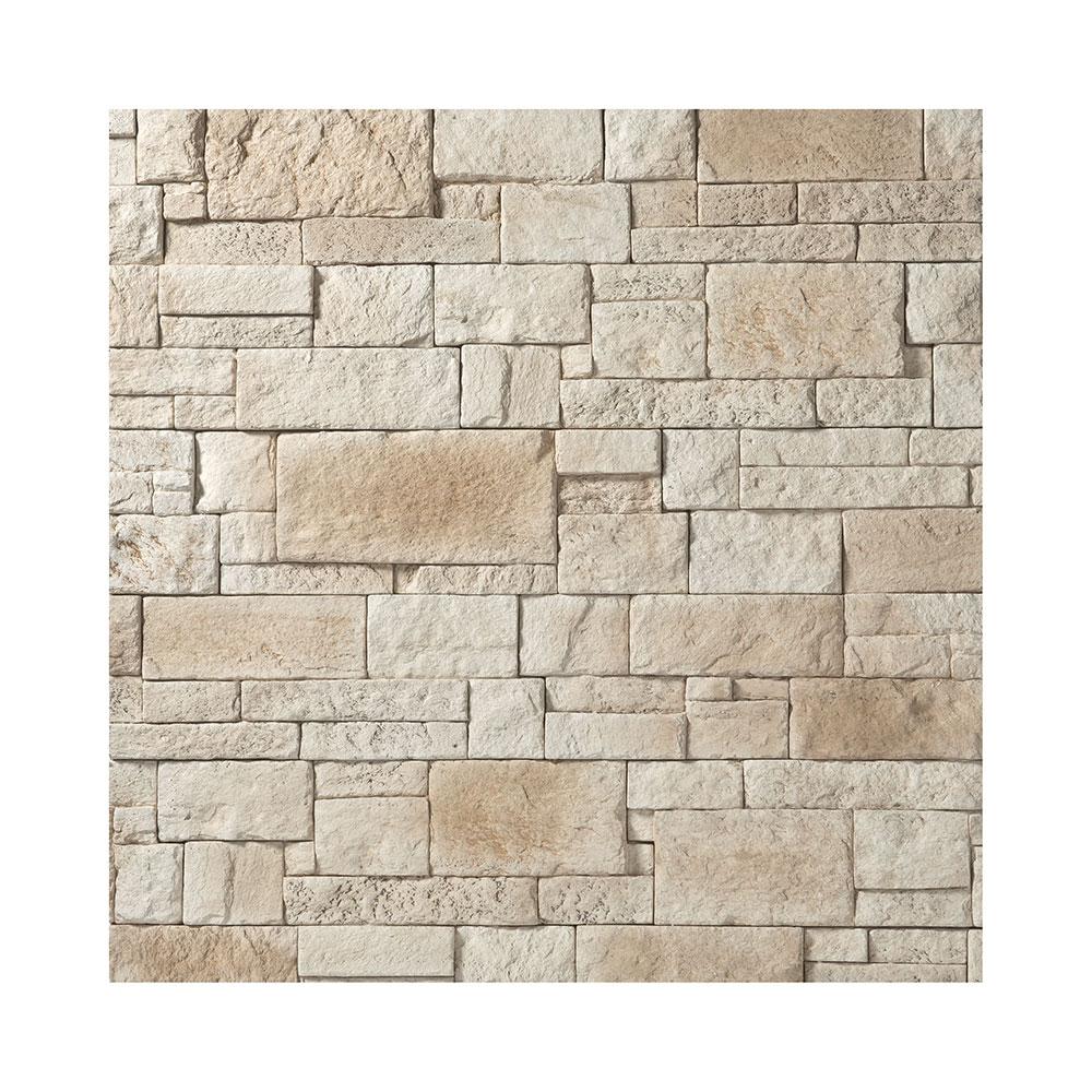 Plaquette de parement pierre g om trique cubik orsol for Carrelage facon pierre
