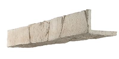 Parement mural pierre brute grand canyon orsol for Encadrement de porte en pierre de parement