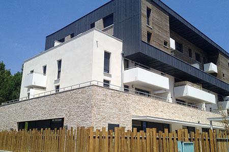 Façade immeuble d'habitation