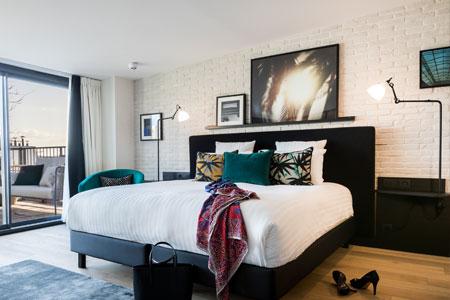Aménagement intérieur LAZ' Hotel Spa Urbain 4* Paris (Hôtel du parc Suitcase Hospitality - Photographe Maxime Ledieu)